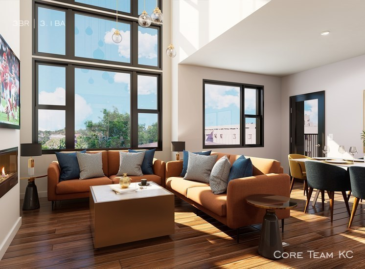 Townhome   living