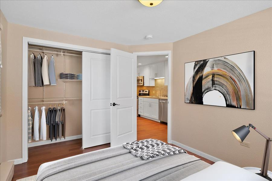 Staged bedroom 2