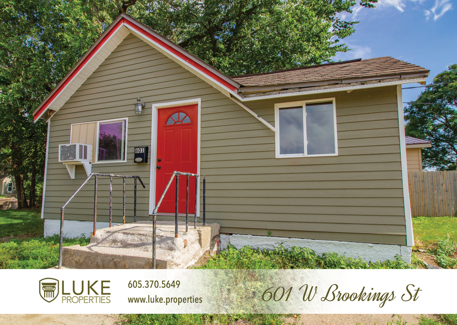Luke properties 601 w brookings st sioux falls sd 57104 house for rent