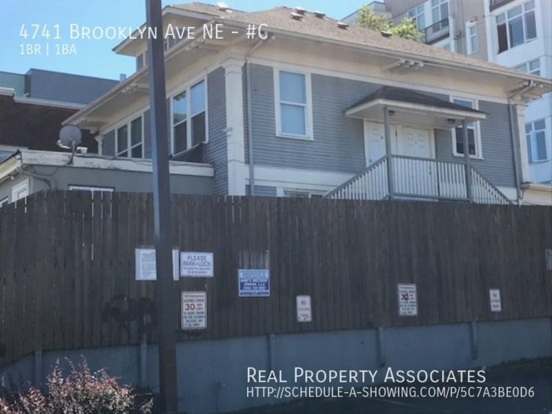 4741 Brooklyn Ave NE, #C, Seattle WA 98105 Photo