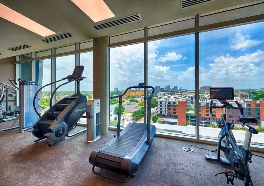 Gym view