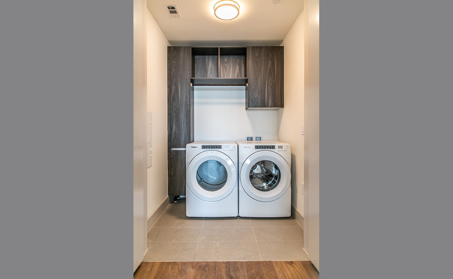 Gallery residences laundry 1
