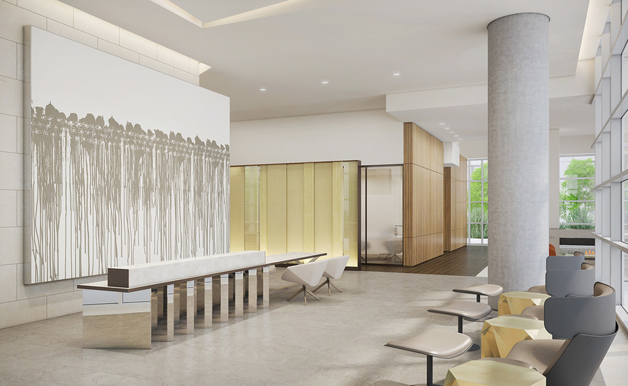 The residences gallery reception
