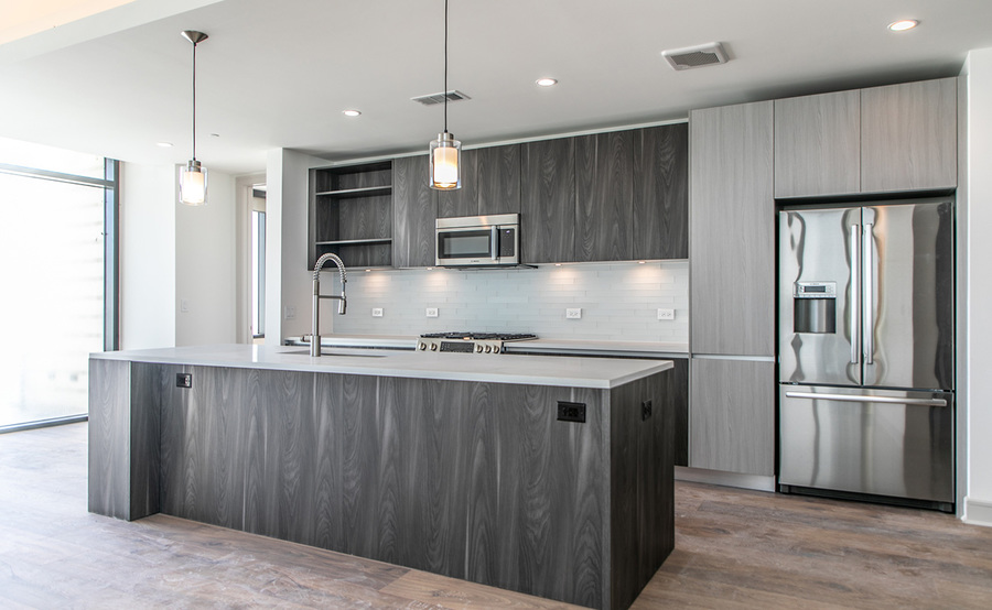 Gallery residences kitchen 1