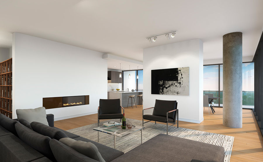 The residences gallery living