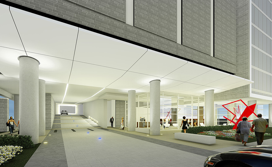 The residences gallery motor court