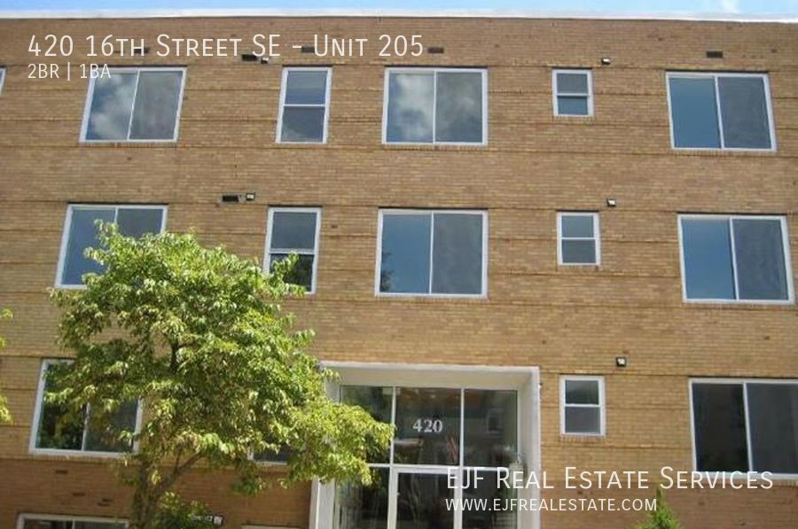 420 16th Street SE, Unit 205 Washington DC 20003
