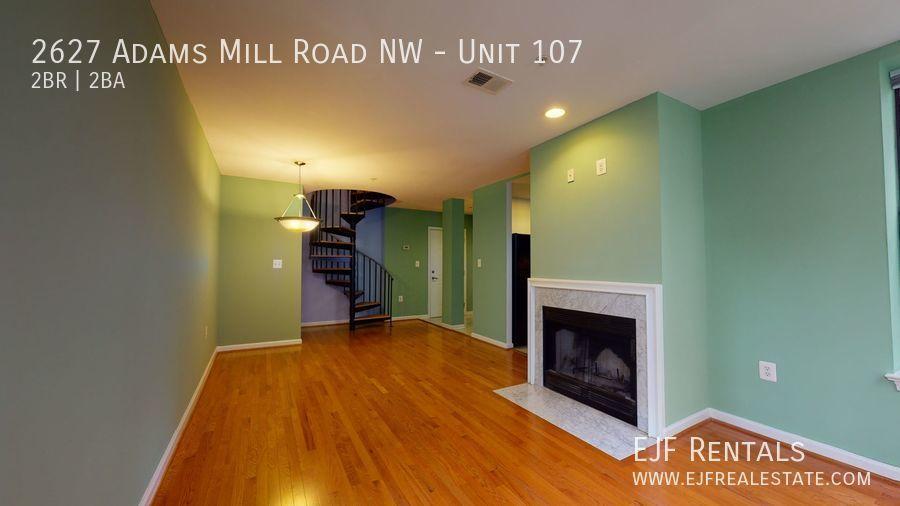 2627 Adams Mill Road NW, Unit 107 Washington DC 20009