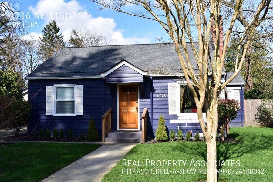 1716 NE 115th St, Seattle WA 98125 Photo