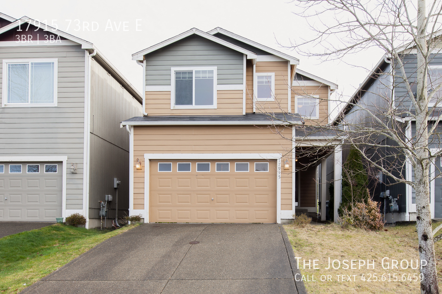 Beautiful 3/bd 2.5ba Puyallup home is move-in ready!