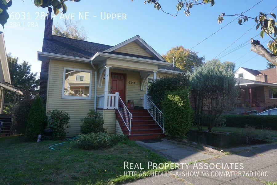 6031 28th Ave NE, Upper, Seattle WA 98115 Photo