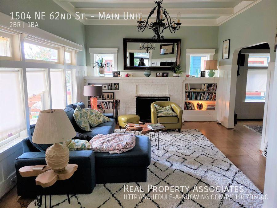 1504 NE 62nd, Main Unit, Seattle WA 98115 Photo