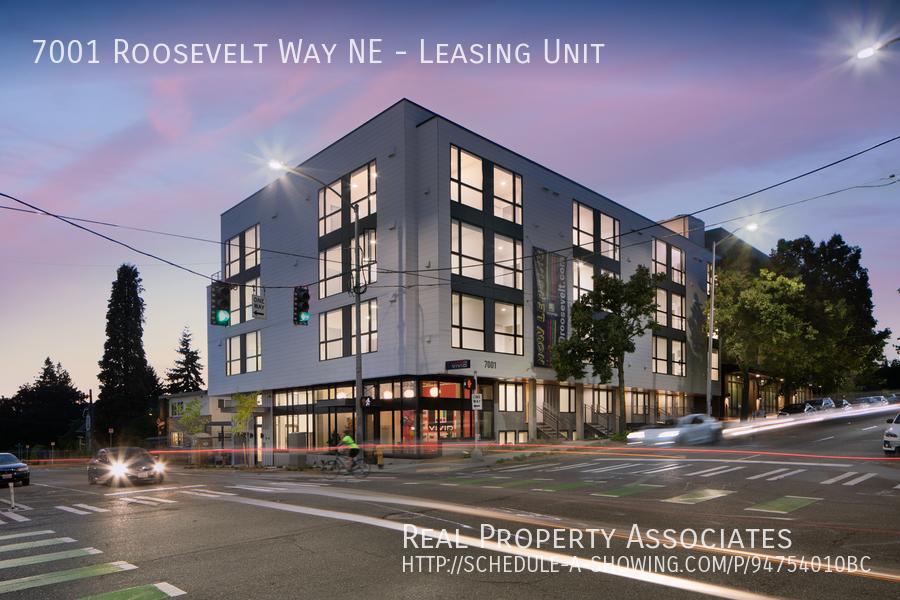 7001 Roosevelt Way NE, Leasing Unit, Seattle WA 98115 Photo