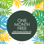 One month free