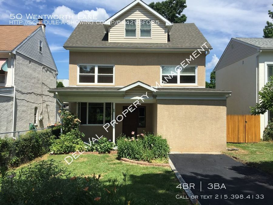 House for Rent in Bryn Mawr