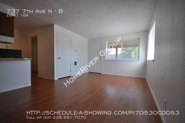 $550 per month , B 737 7th Ave N,
