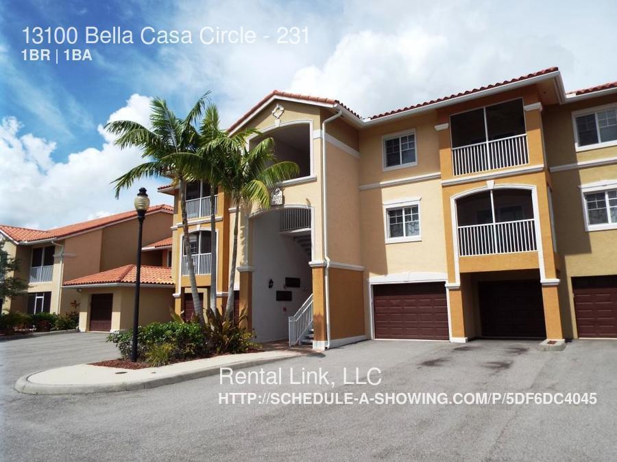 $1150 - $1025 per month , 231 13100 Bella Casa Circle,