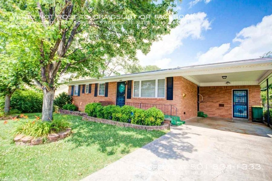 North little rock houses for rent in north little rock for Cost to build a house in little rock