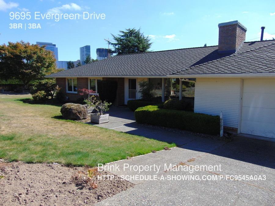 Bellevue 3 Bedroom Rental At 9695 Evergreen Dr Bellevue Wa 98004 3400 Apartable