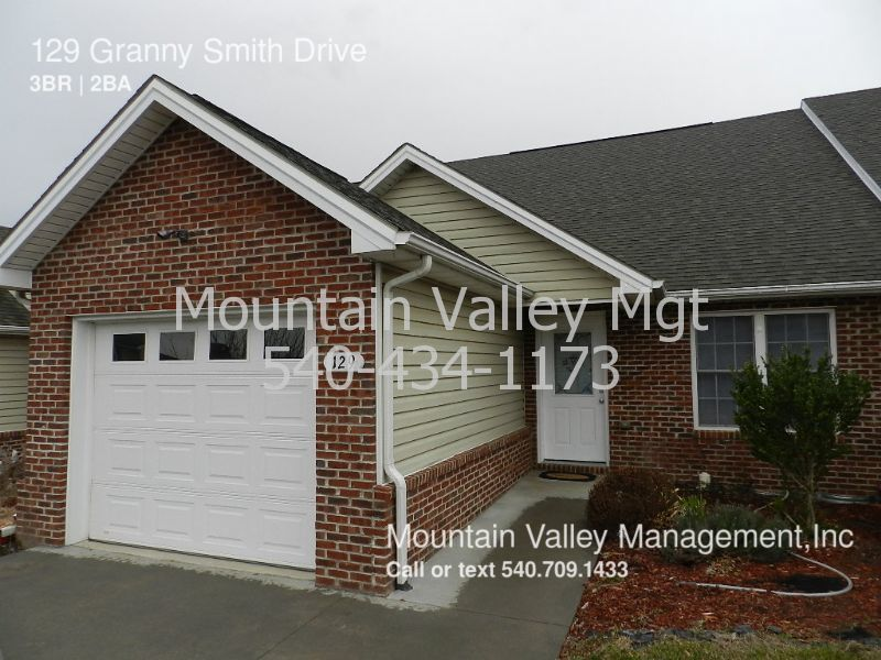 Townhouse for Rent in Timberville