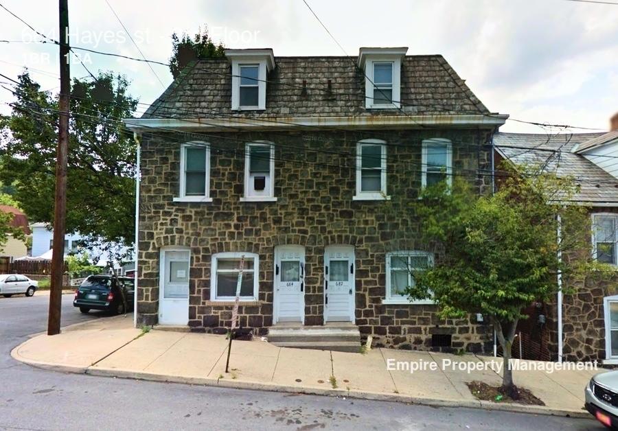 Bethlehem 1 Bedroom Rental At 684 Hayes St Bethlehem Pa 18015 3rd Floor 600 Apartable