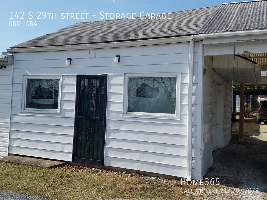 $100 per month  Storage Garage 142 S 29th street