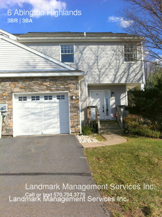Condo for Rent in Clarks Summit