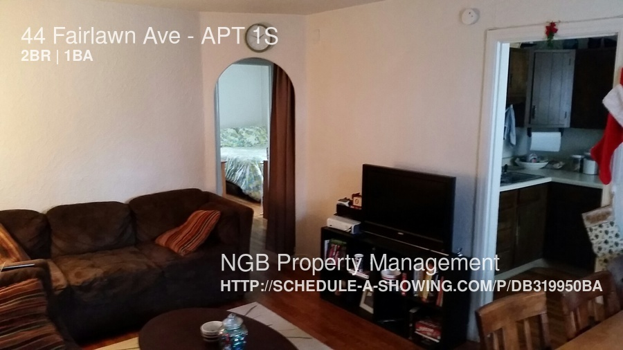 $825 per month , APT 1S 44 Fairlawn Ave,