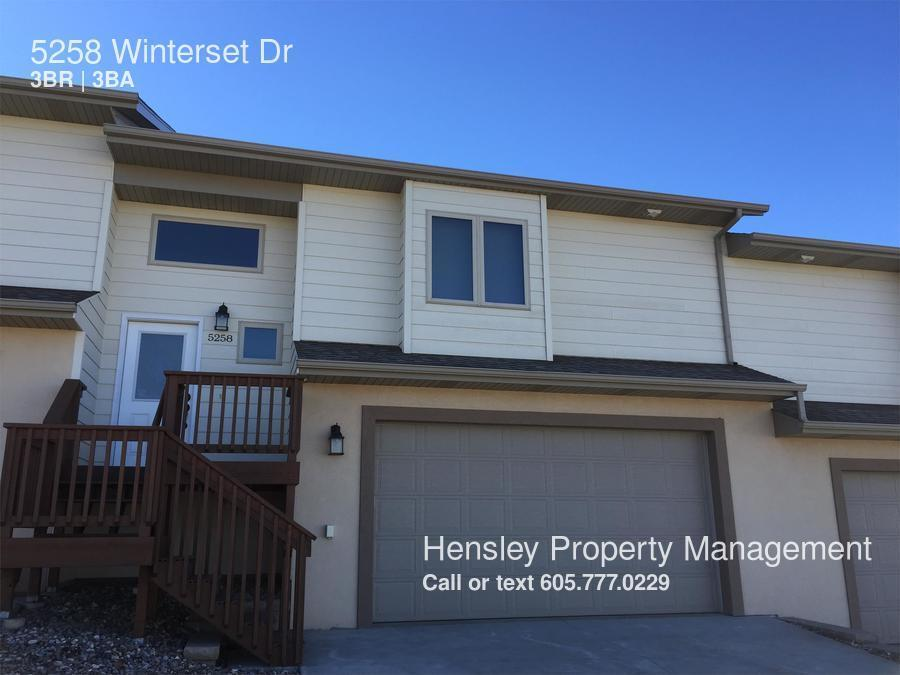 Townhouse for Rent in Rapid City