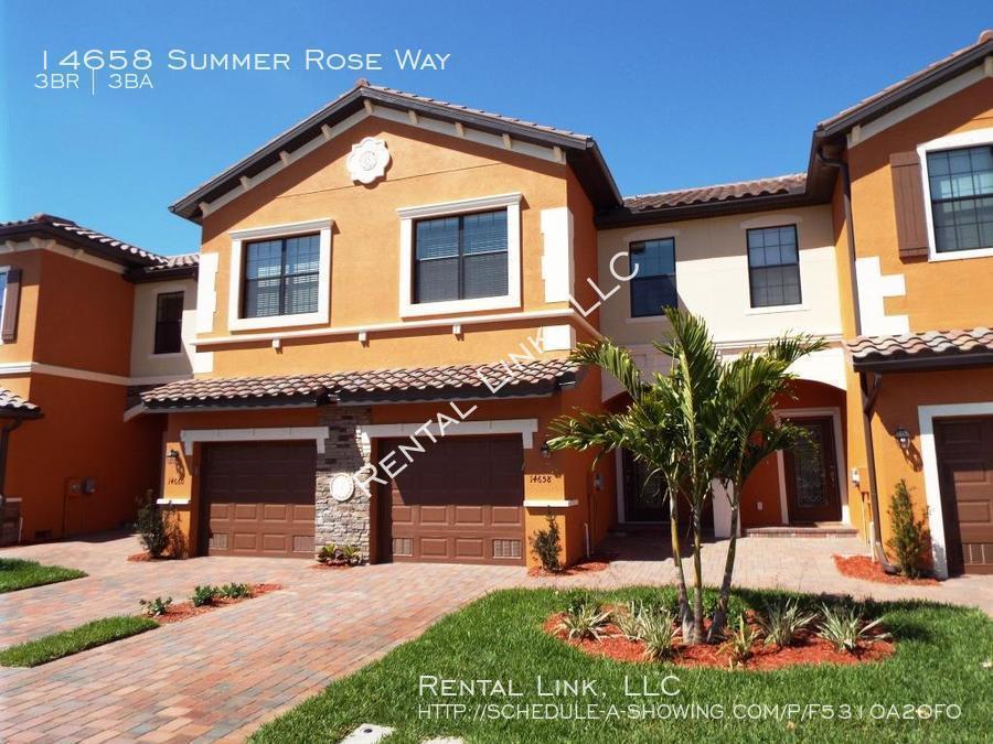 $1795 per month , 14658 Summer Rose Way,