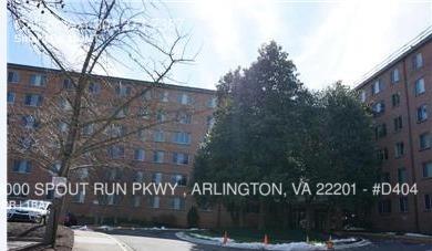 $1625 per month , #D404 3000 SPOUT RUN PKWY , ARLINGTON, VA 22201,