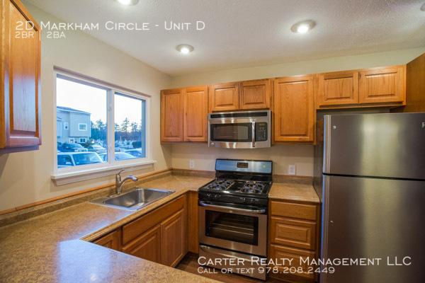 $1575 per month , Unit D 2D Markham Circle,