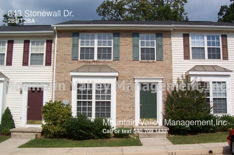 Harrisonburg 2 Bedroom Rental At 643 Stonewall Dr Harrisonburg Va 22801 950 Apartable