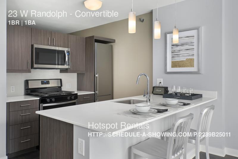 $2000 per month  Convertible 23 W Randolph