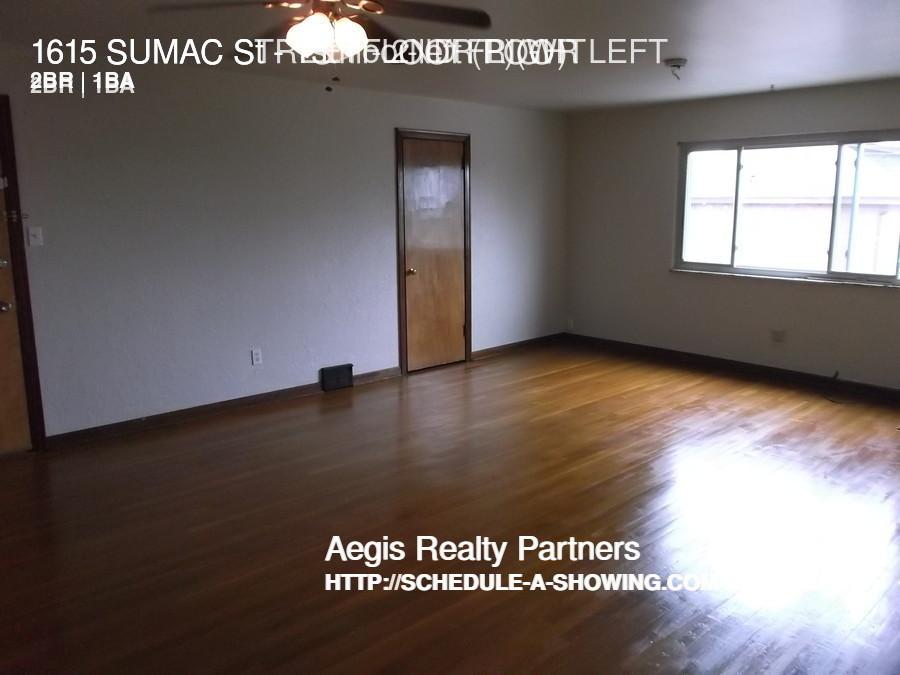 $575 per month  1ST FLOOR RIGHT 1615 SUMAC St