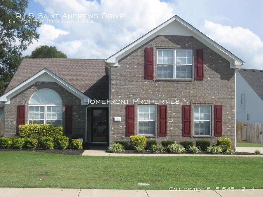 Murfreesboro 3 Bedroom Rental At 1915 Saint Andrews Dr Murfreesboro Tn 37128 1500 Apartable
