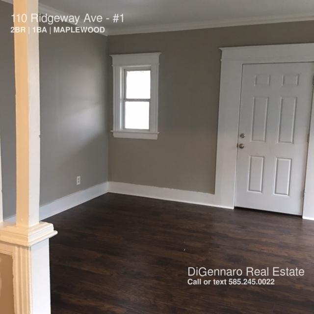 110 RIDGEWAY AVE  TWO BEDROOM APARTMENT