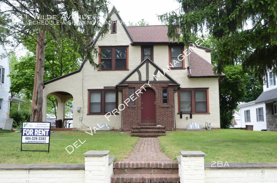 House for Rent in Drexel Hill