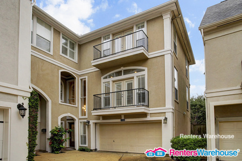 Townhouse for Rent in Houston