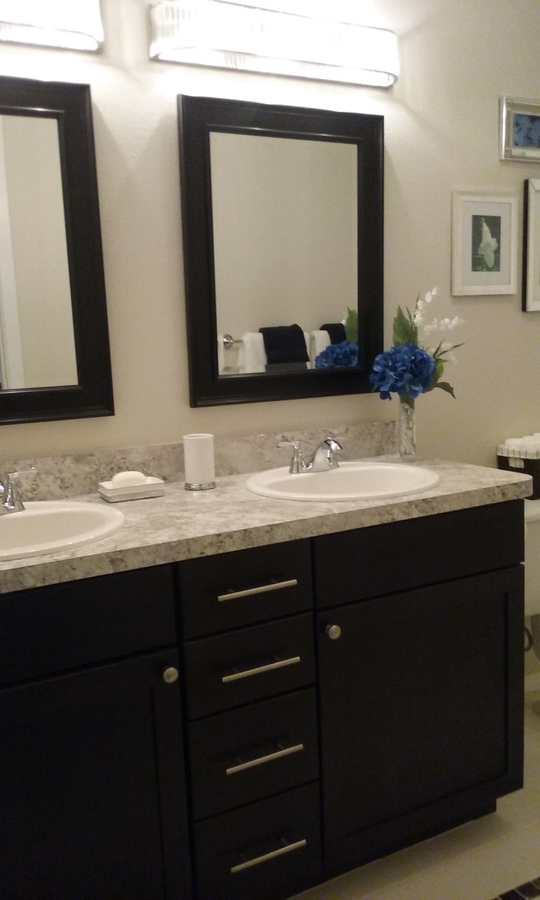 21   double sink master bath