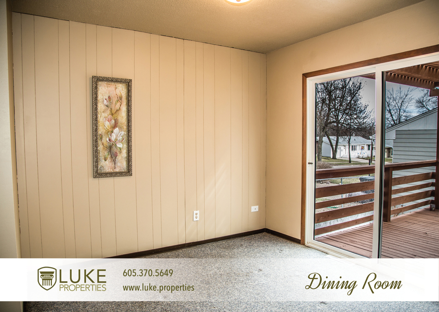 Luke properties 3621 e claudette dr sioux falls south dakota 57103 dining room house for rent