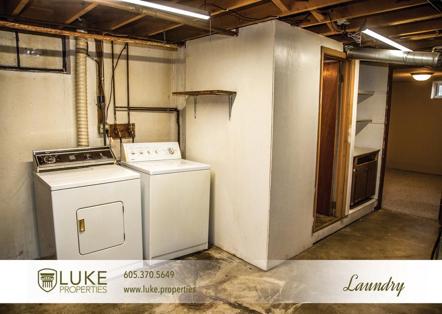 Luke properties 3621 e claudette dr sioux falls south dakota 57103 laundry house for rent