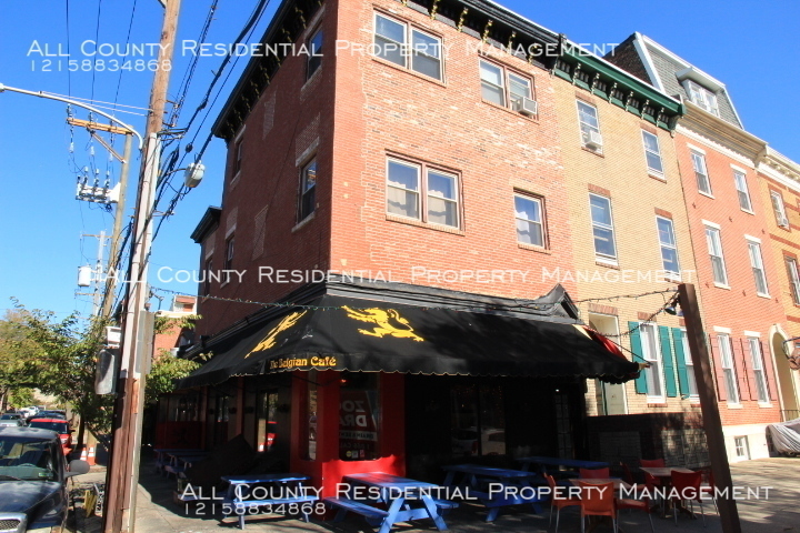 2047 Green St. Beautiful 1 Bedroom above Belgian Cafe in Philadelphia PA