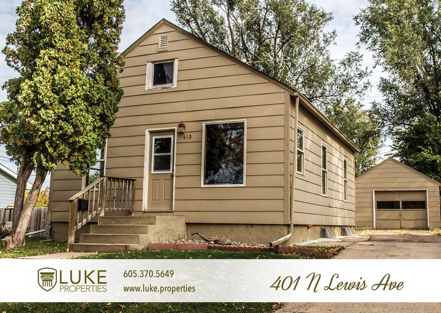 Luke properties home for rent sioux falls