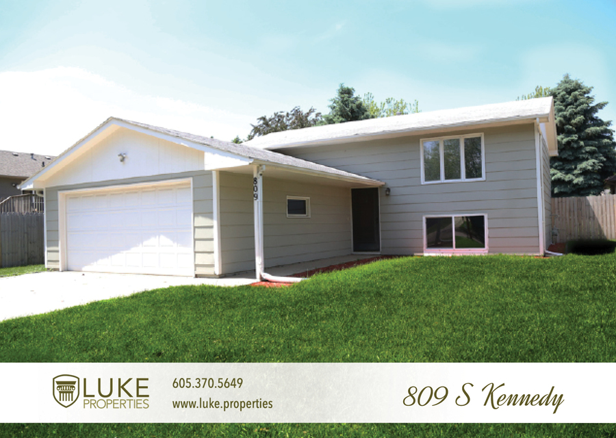 Luke properties 809 s kennedy ave sioux falls sd 57103 house for rent