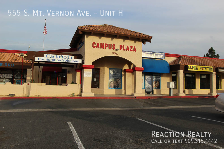 555 S. Mt. Vernon Ave. Available Lease space in high traffic area in San Bernardino!