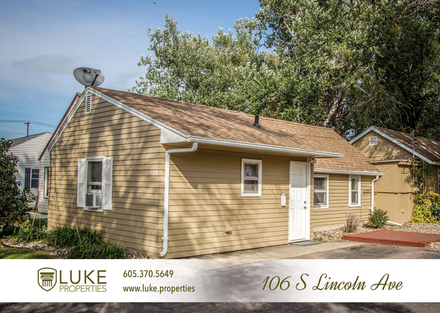 Luke properties 106 s lincoln sioux falls sd 57105 house for rent