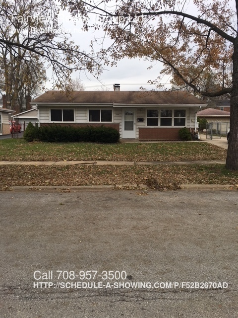 House for Rent in Calumet City