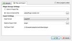 Skipper CakePHP export settings