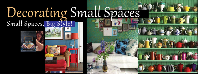 Decorating Small Spaces Header A